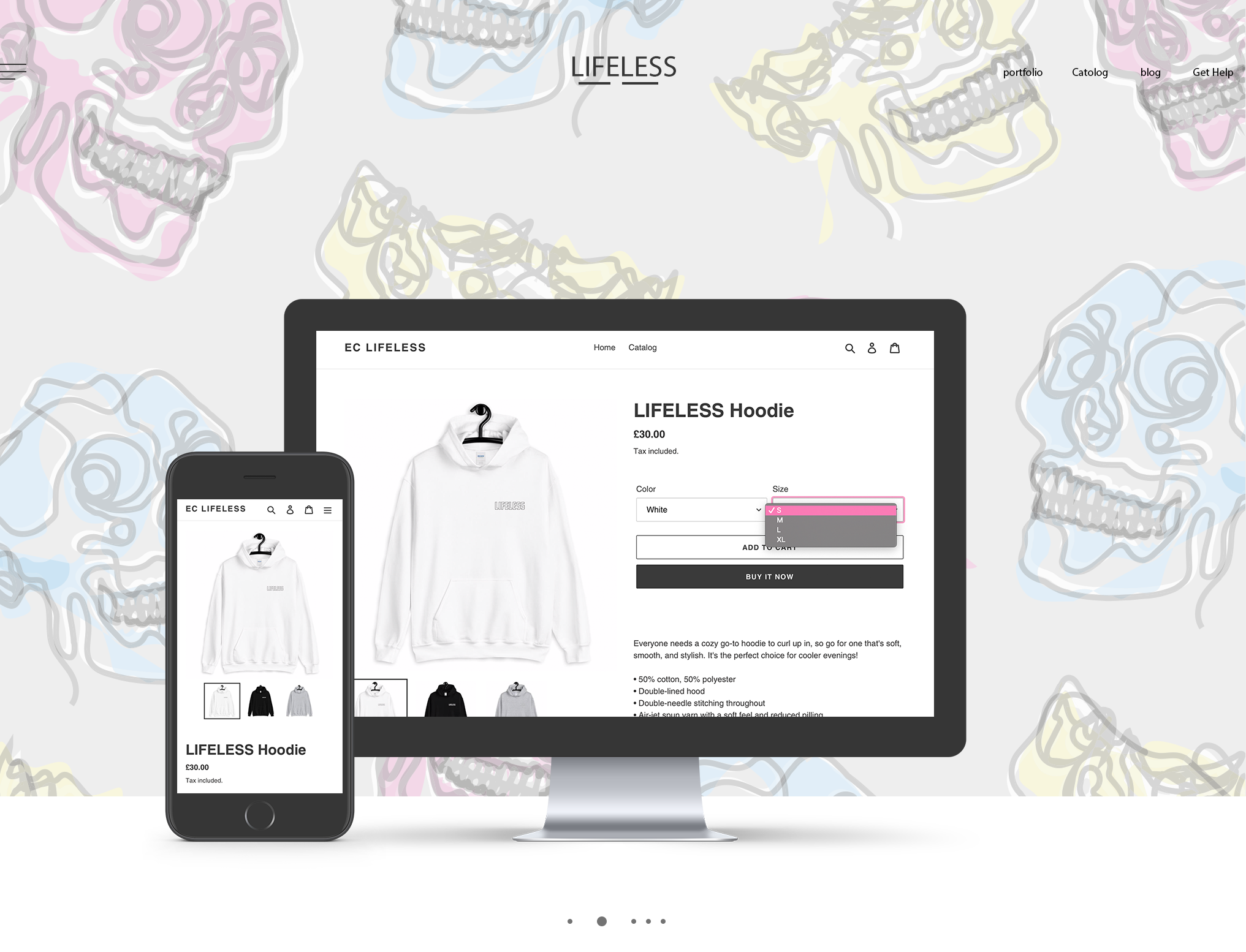 3 Product page